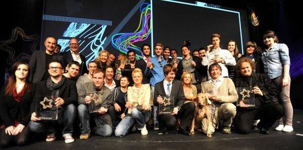 Alle GewinnerInnen des Deutschen Webvideopreises 2013